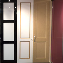 Hinged door style options.
